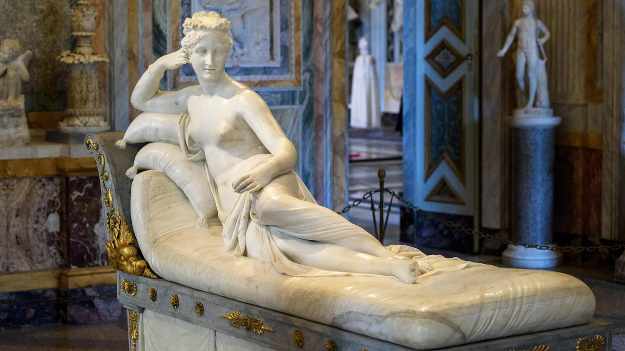 Antonio Canova's Pauline Bonaparte as Venus Victrix. Picture: Alamy