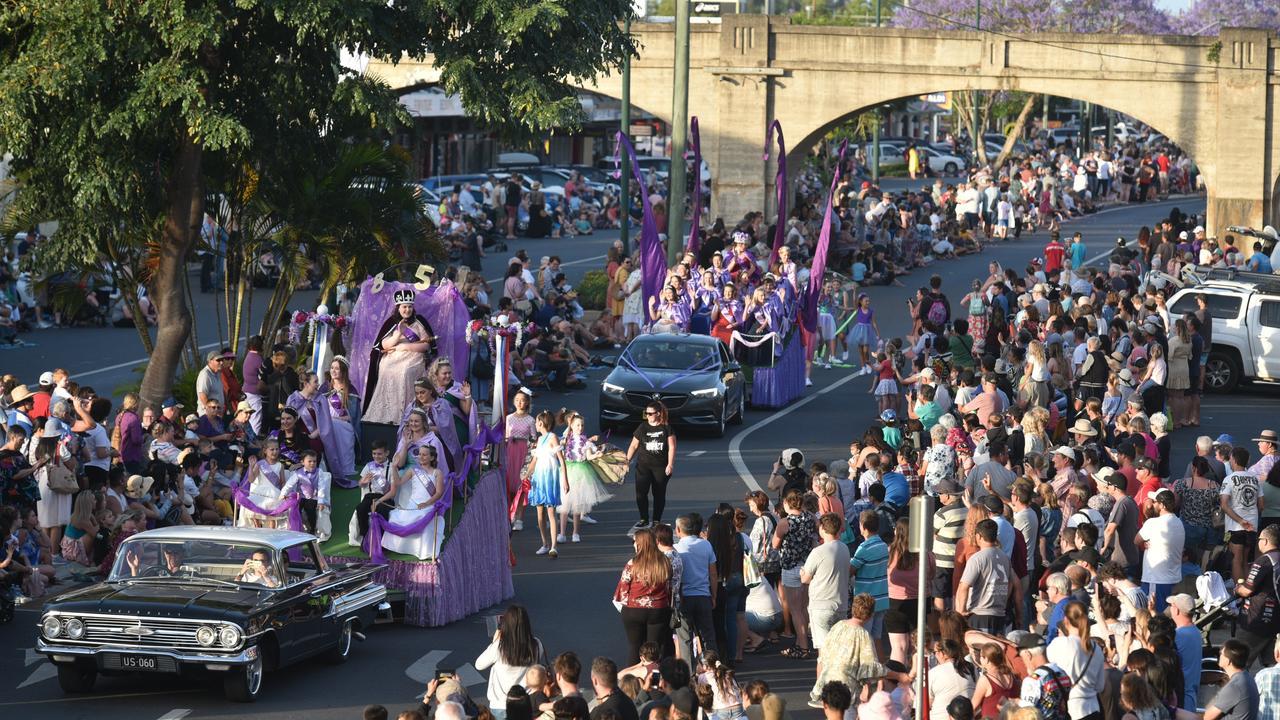 The Jacaranda Festival has been cancelled for 2020. Photo: Adam Hourigan