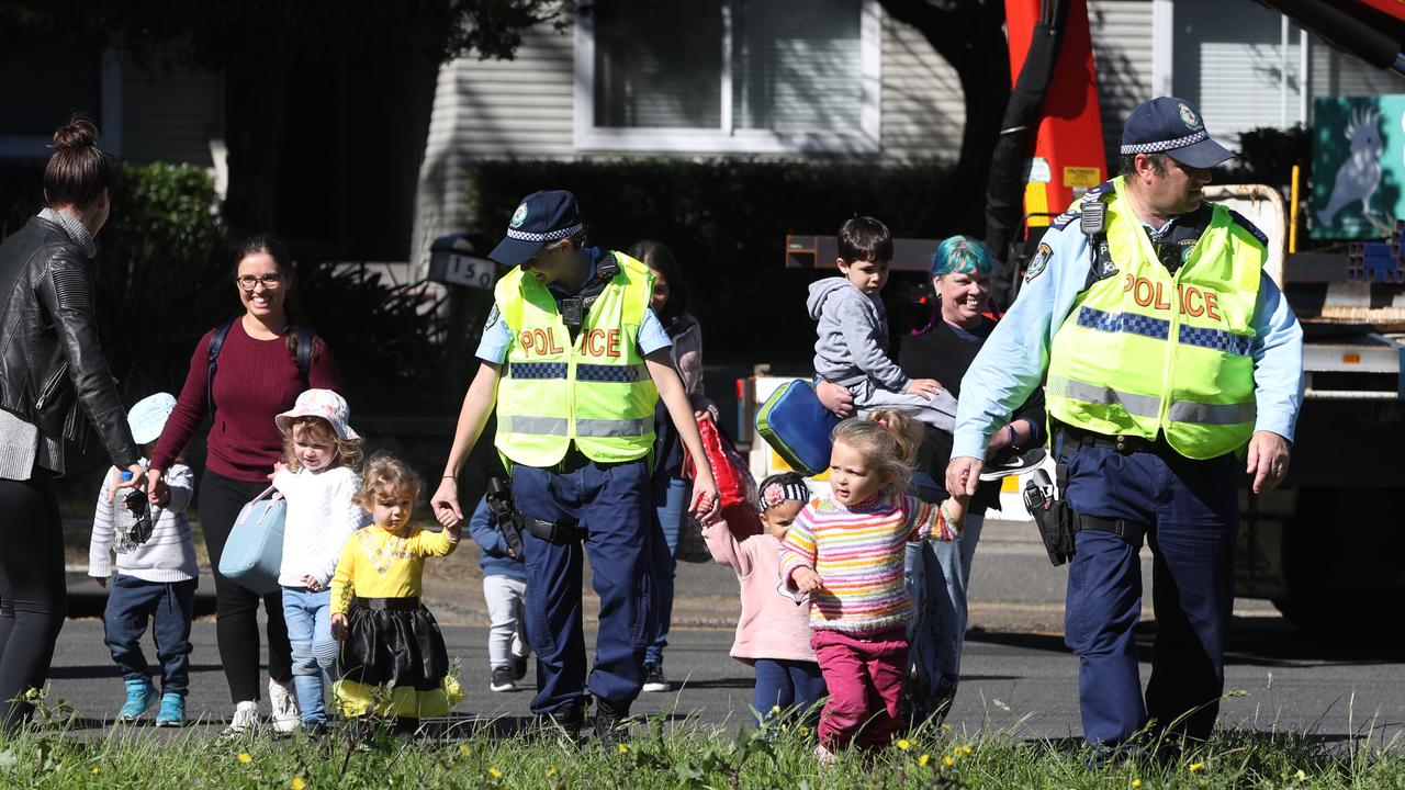 Seven kids were evacuated from the family day care centre. Picture: John Grainger