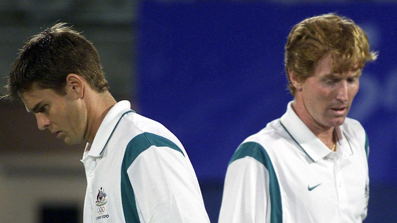 Todd Woodbridge and Mark Woodforde were Australia's favourite duo but no longer speak.