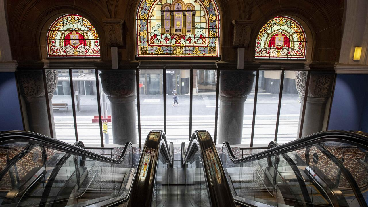 A woman has reportedly fallen to her death in the Queen Victoria Building. Picture: John Feder/The Australian