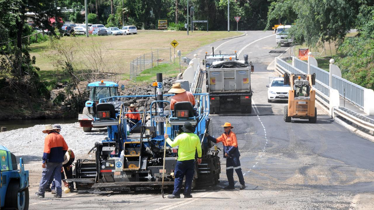 Council workers are going to be busy over the next fortnight. Photo Craig Warhurst / The Gympie Times