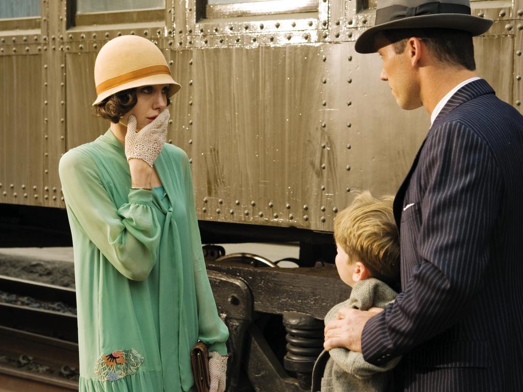 Angelina Jolie in the eerie drama Changeling.