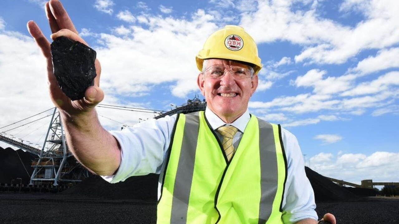 Queensland Resources Council Chief Executive Ian Macfarlane.