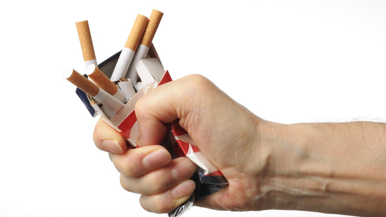 This is what North Queenslanders are not doing, but health officials would like us to do, with cigarettes. Picture: iStock