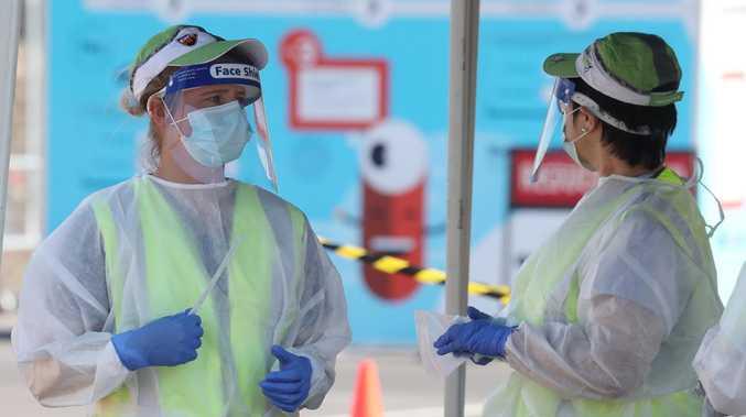 Ipswich woman tests positive to coronavirus