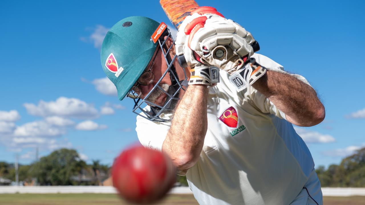 Lockyer Veterans cricketer Mike Nowlan has decided to stop playing cricket after 35 years in the sport to focus on his role as a full-time carer. PHOTO: ALI KUCHEL