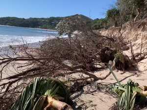 Coastal erosion Byron Shire 06AUG20