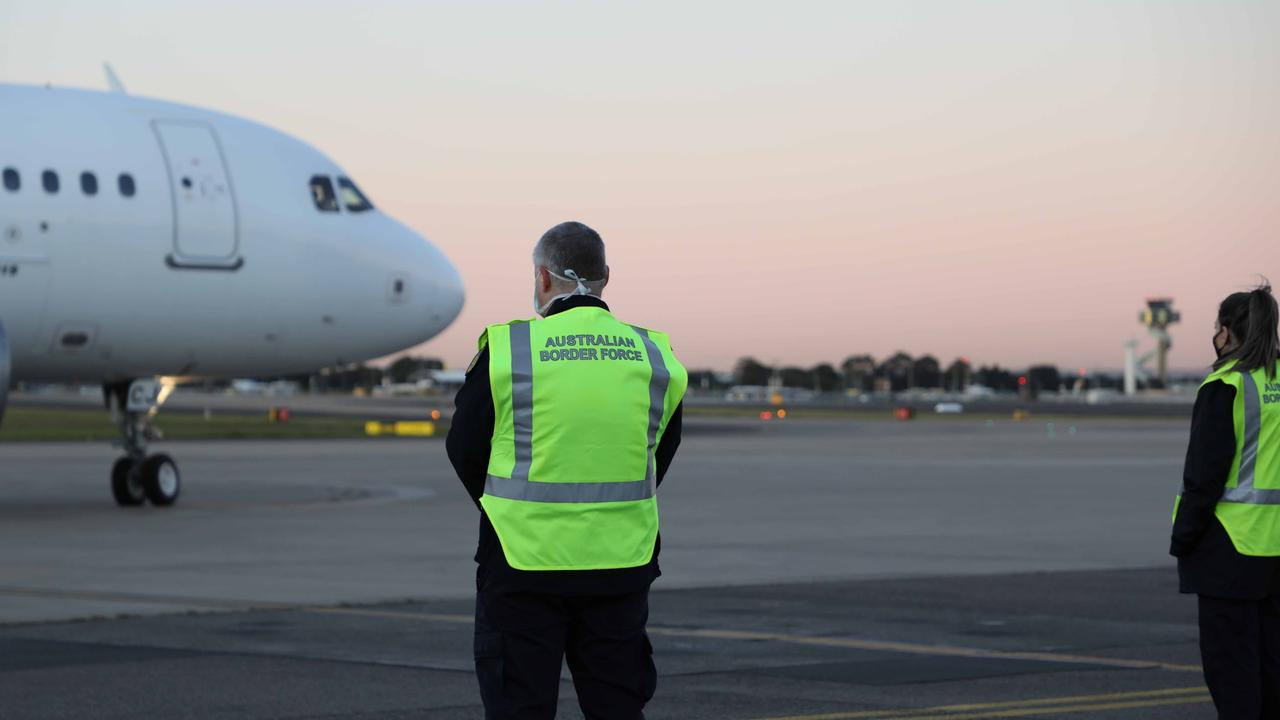 The COVID-19 outbreak's border closures and flight reductions  have prompted Australian Border Force to launch a Con Air prisoner plane to banish foreign crims.