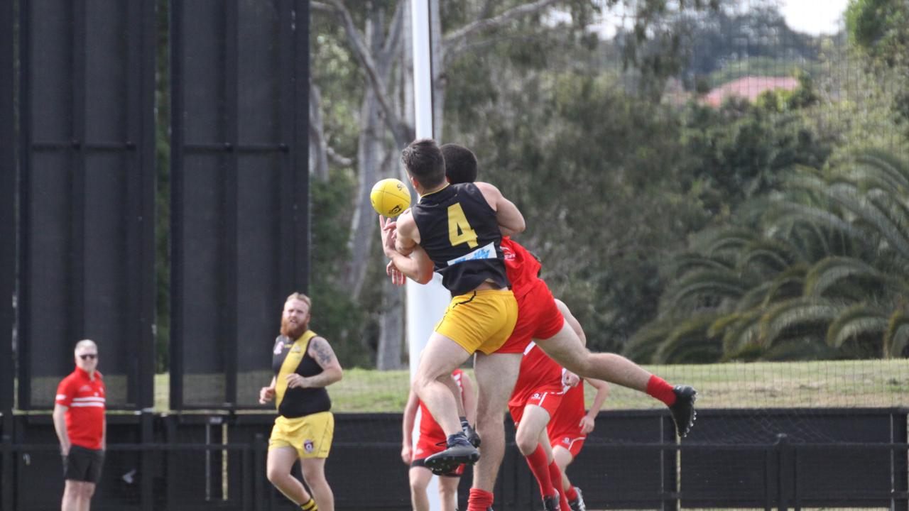 FOUR ON FOUR: AFLQ has made changes to the Senior South East Queensland fixture meaning Tweed Coast Tigers play Lismore Swans on August 8 at Seabreeze Oval Tweed, shortly after they closed at Oakes Oval on July 18, 2020. Photo: Alison Paterson