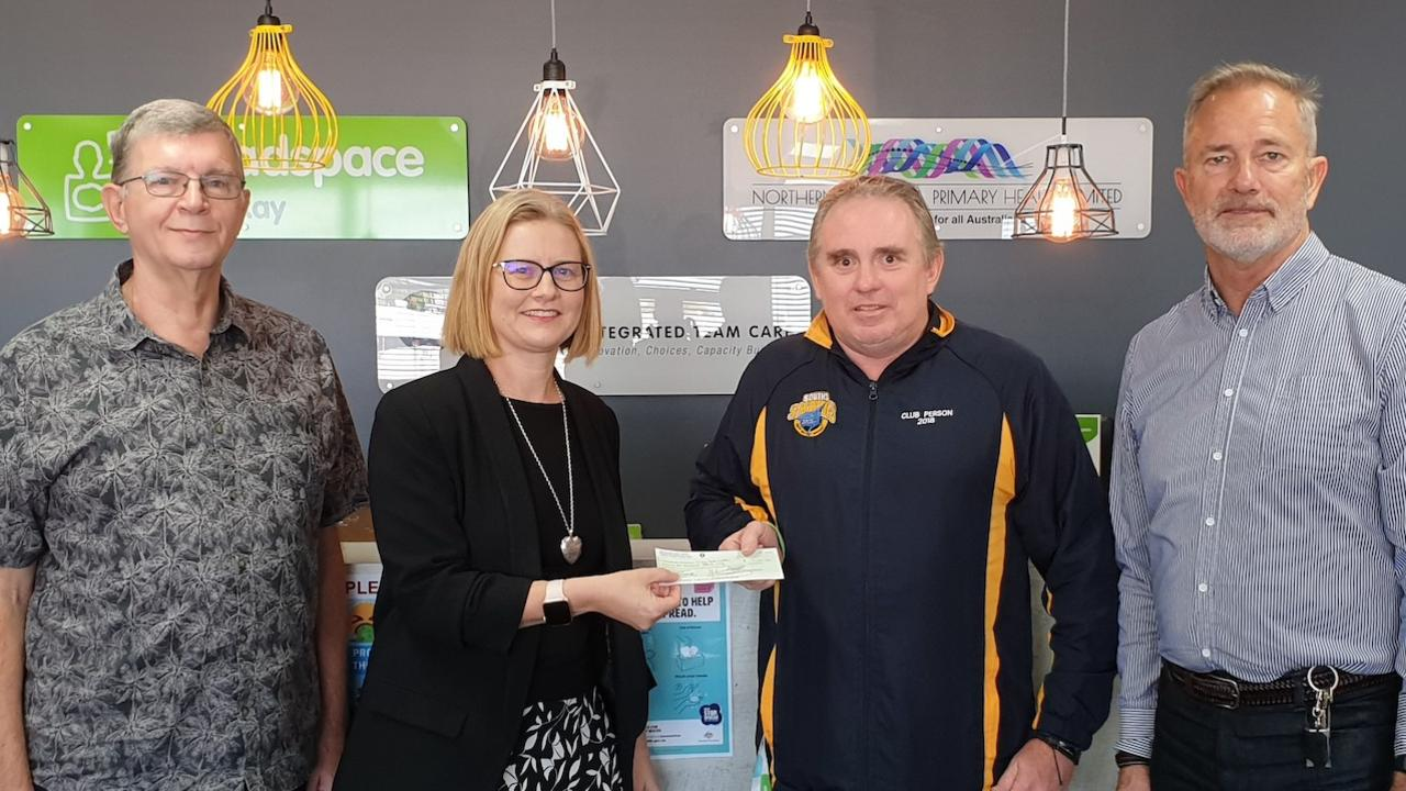 The Mackay Community Foundation gifted $10,000 to headspace Mackay for their