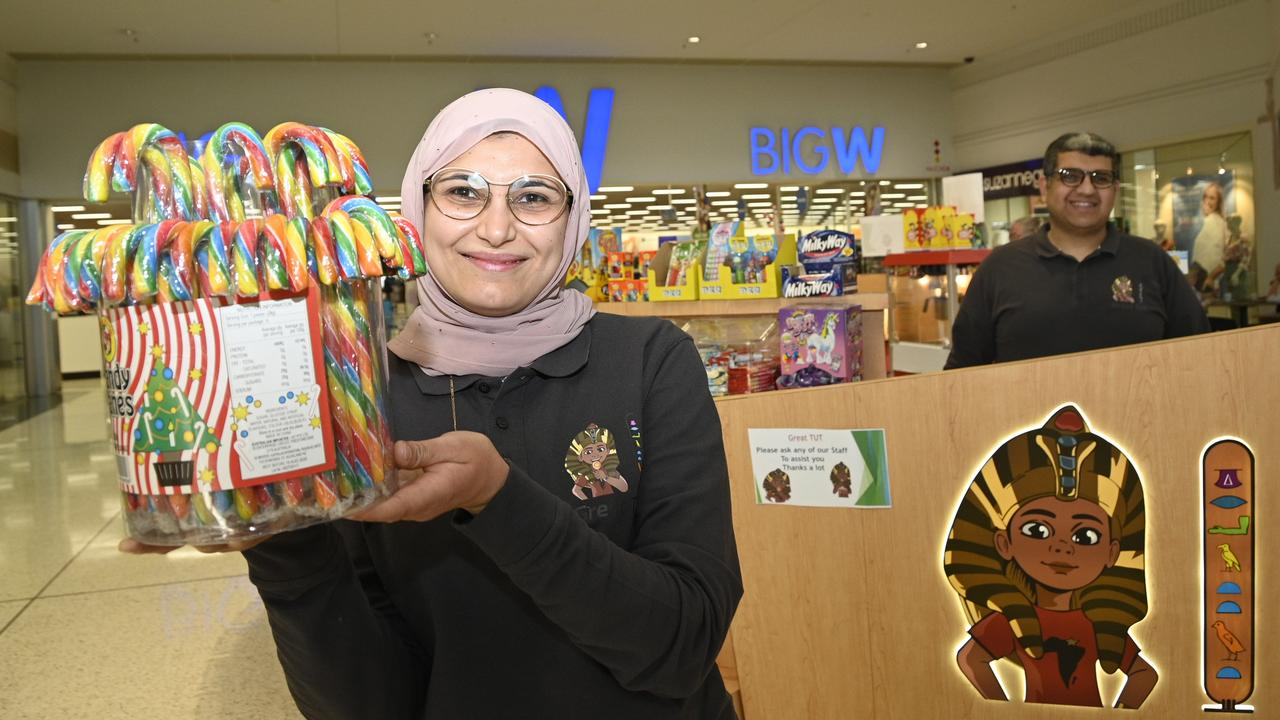 Great Tut lolly shop owners Sara Elnaghawi and Ali Soltan.