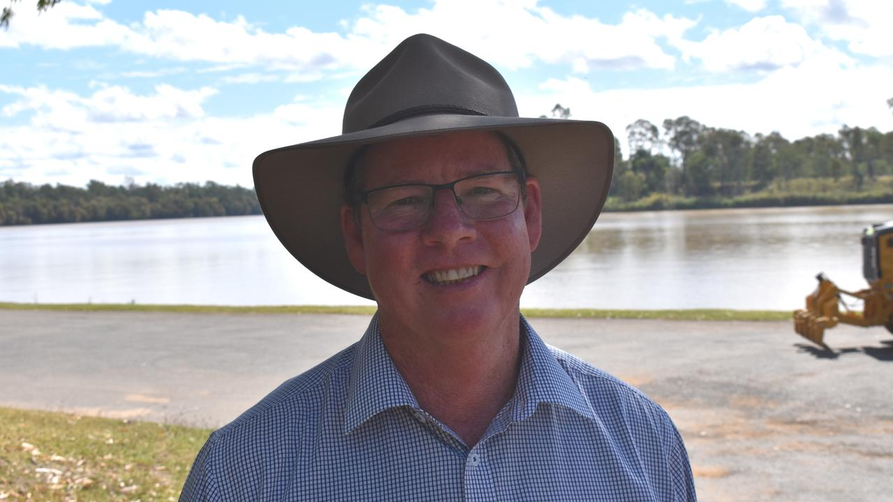ROOKWOOD PROGRESS: After watching the Rookwood Weir project wallow for years, Rockhampton MP Barry O'Rourke was delighted to help get it going within his first term of government.