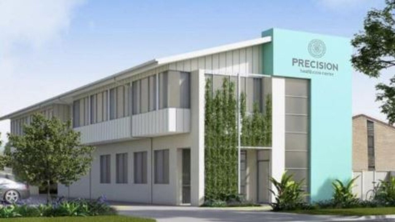 FROM THE GROUND UP: Precision Healthcare Centre is due to be completed next month and will be a specialist-led centre with a holistic approach to health and healing.