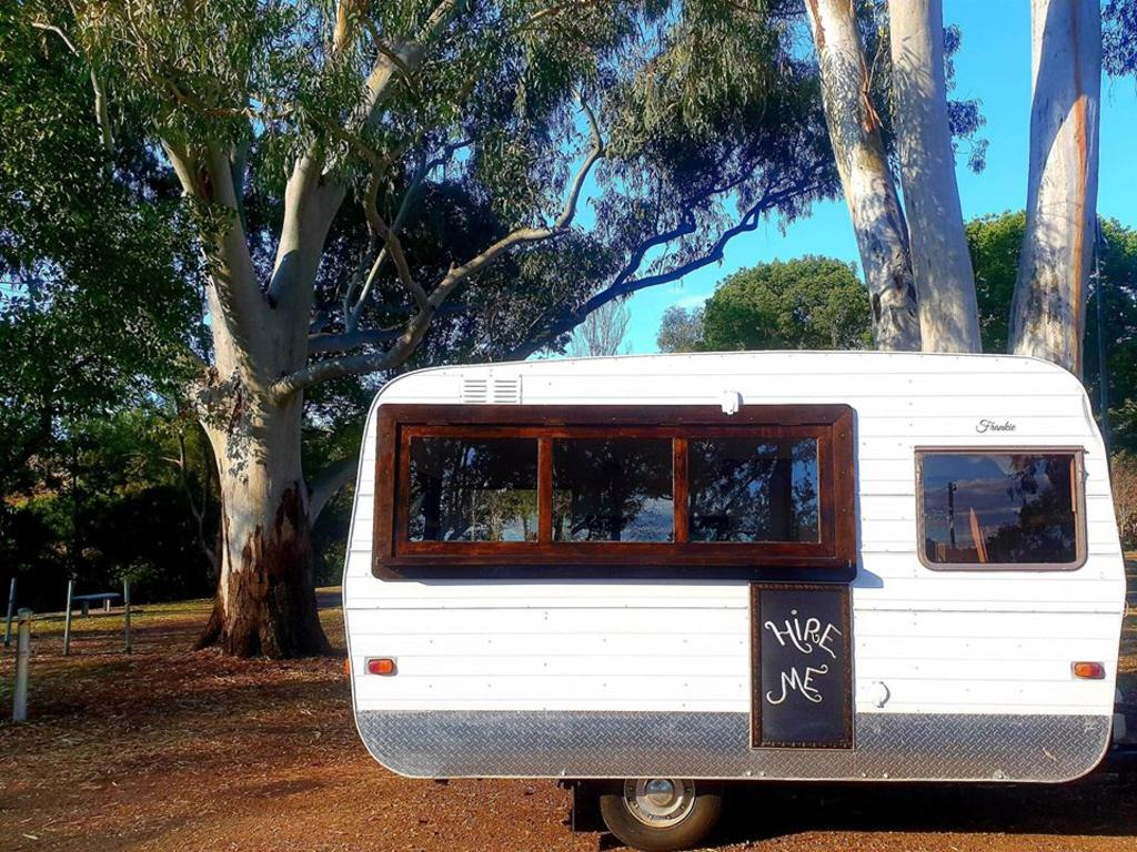 Katie's Cocktail Cafe caravan is available for all sorts of private functions.
