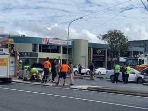 Horror smash in Mackay CBD leaves two injured