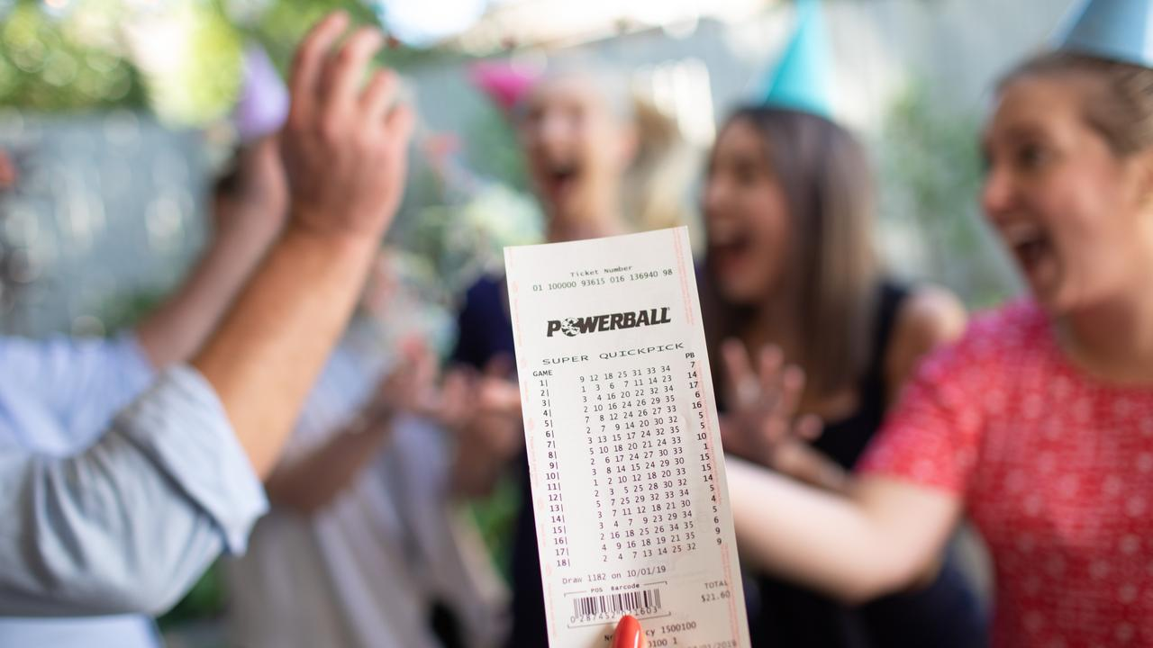 After $30 million was pocketed by three winners last week, tonight's Powerball goes back to the start but is still nothing to sneeze at.