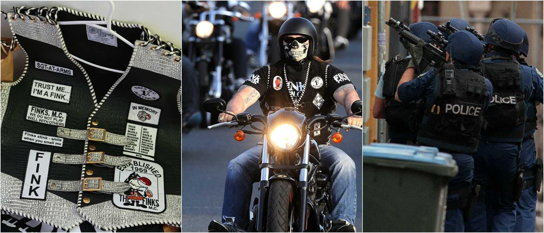 Bikie gangs are invading Brisbane.