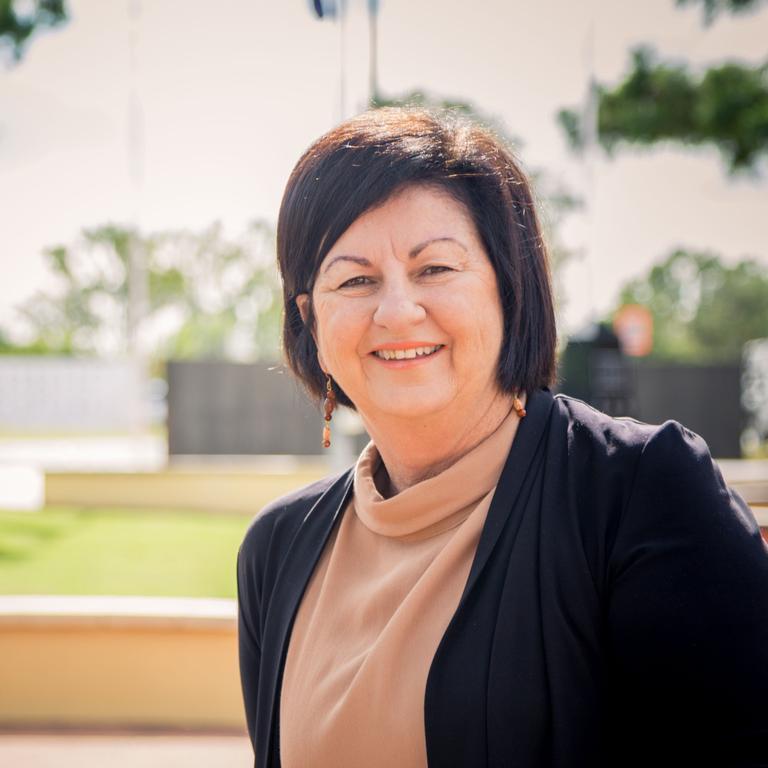 Isaac Regional Council mayor Anne Baker.
