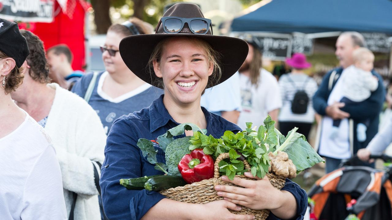 FOOD FESTIVAL: Lilly Rehbein from One Little Farm at the Taste Bundaberg Festival previously. Photo: Paul Beutel