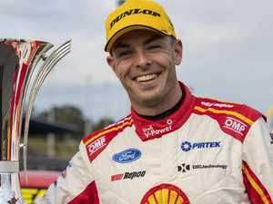 Reigning Supercars champion among group of 40 in quarantine
