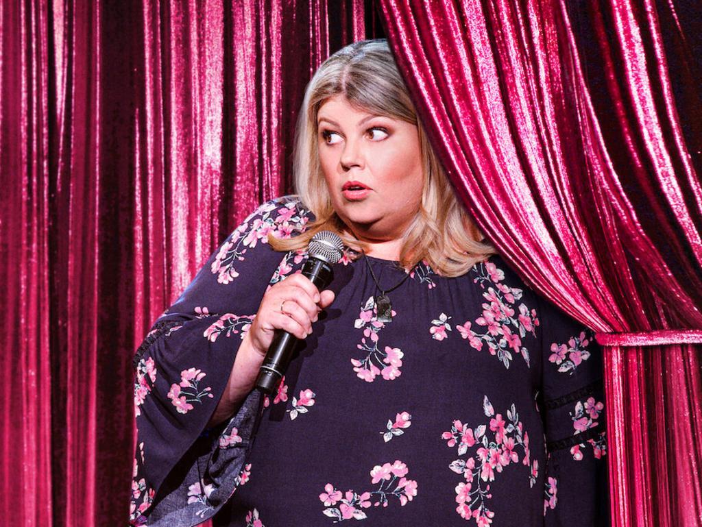 Comedian Urzila Carlson. Picture: Supplied