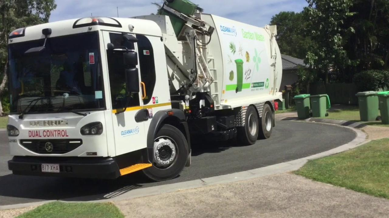 This green waste bin collection is one of millions of waste pick-ups made in Noosa last year.
