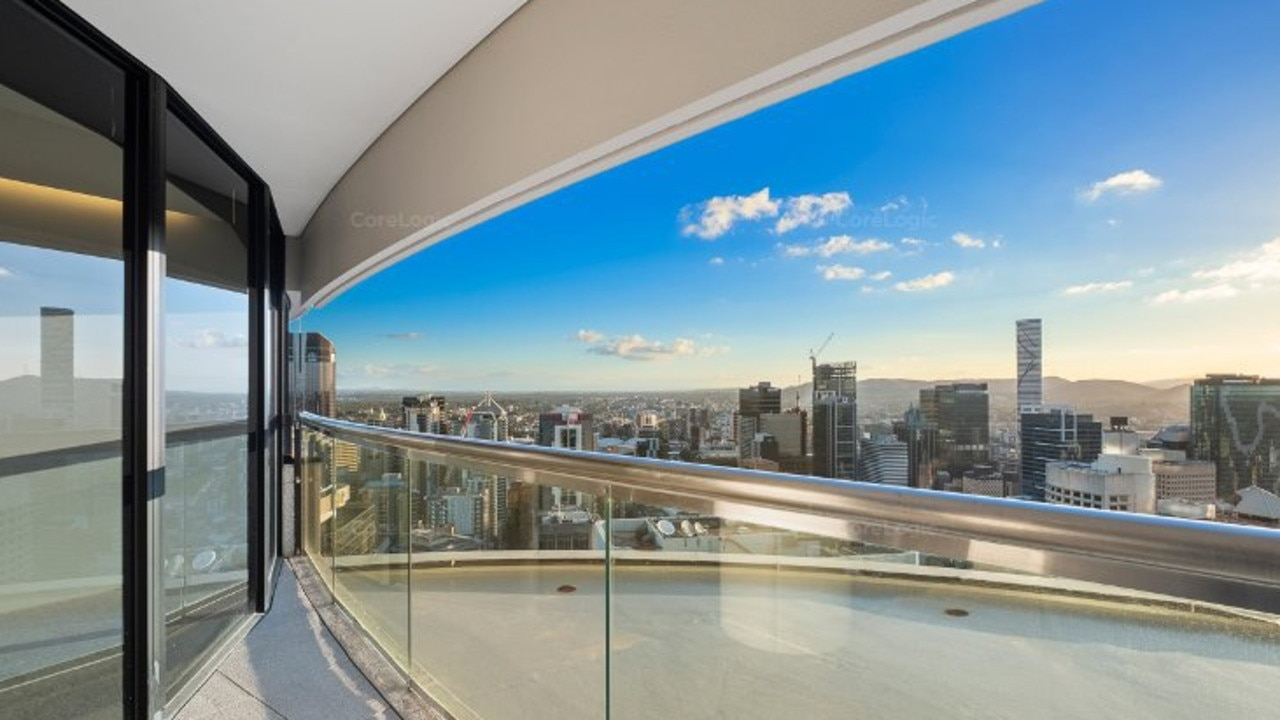 This apartment at 4105/71 Eagle St, Brisbane CBD, is for rent. Image: CoreLogic.