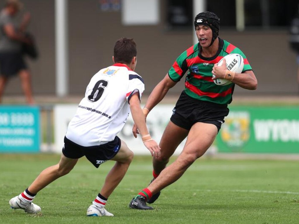 South Sydney hopeful Joseph Suaalii.