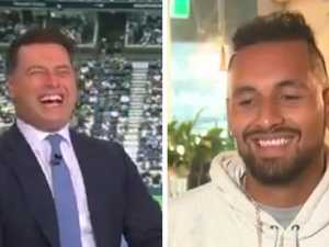 Kyrgios thrown under the bus on live TV