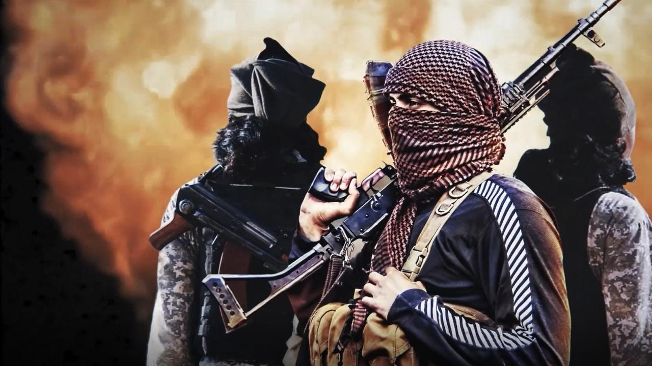ISIS has urged attacks against Australia in a shocking new video. Picture: Supplied