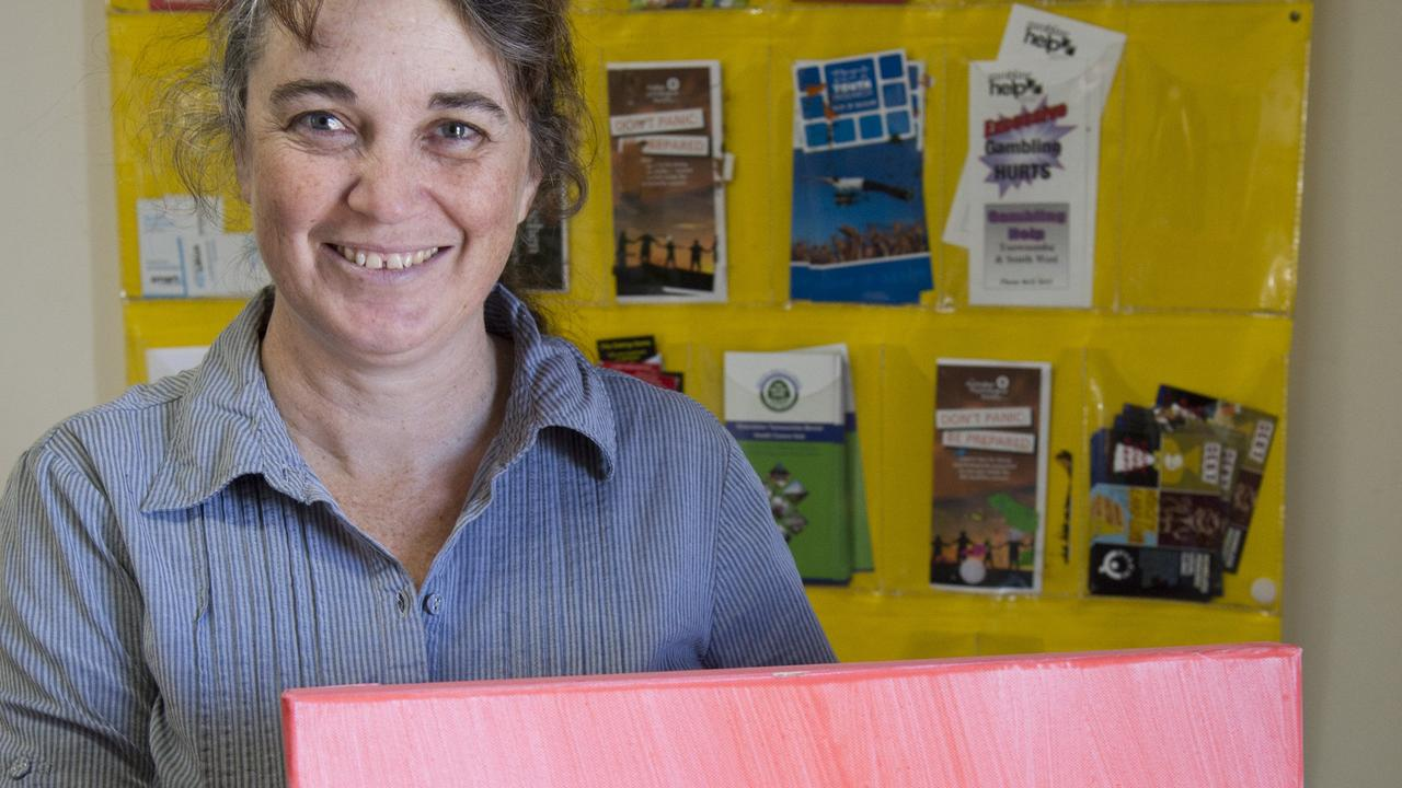 Toni Mitchell is looking forward to this year's Artyability exhibition where art is on display throughout the Toowoomba CBD as part of disability week.