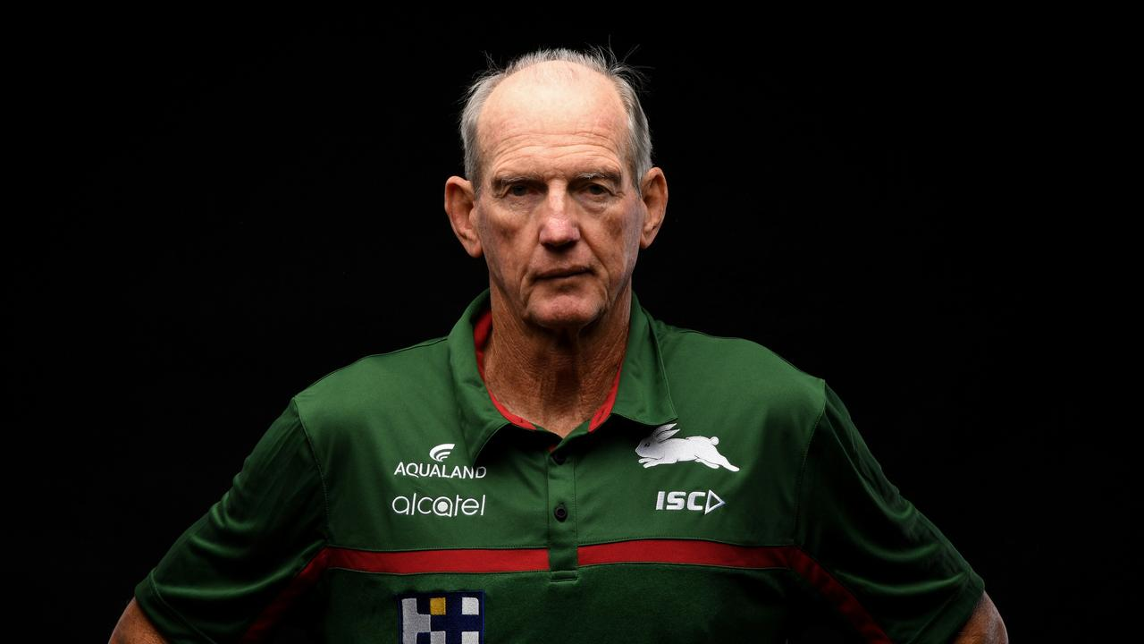 South Sydney coach Wayne Bennett is in hot water. Picture: Grant Trouville/NRL Photos