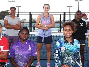 Ash Barty's inspiring message for Indigenous girls