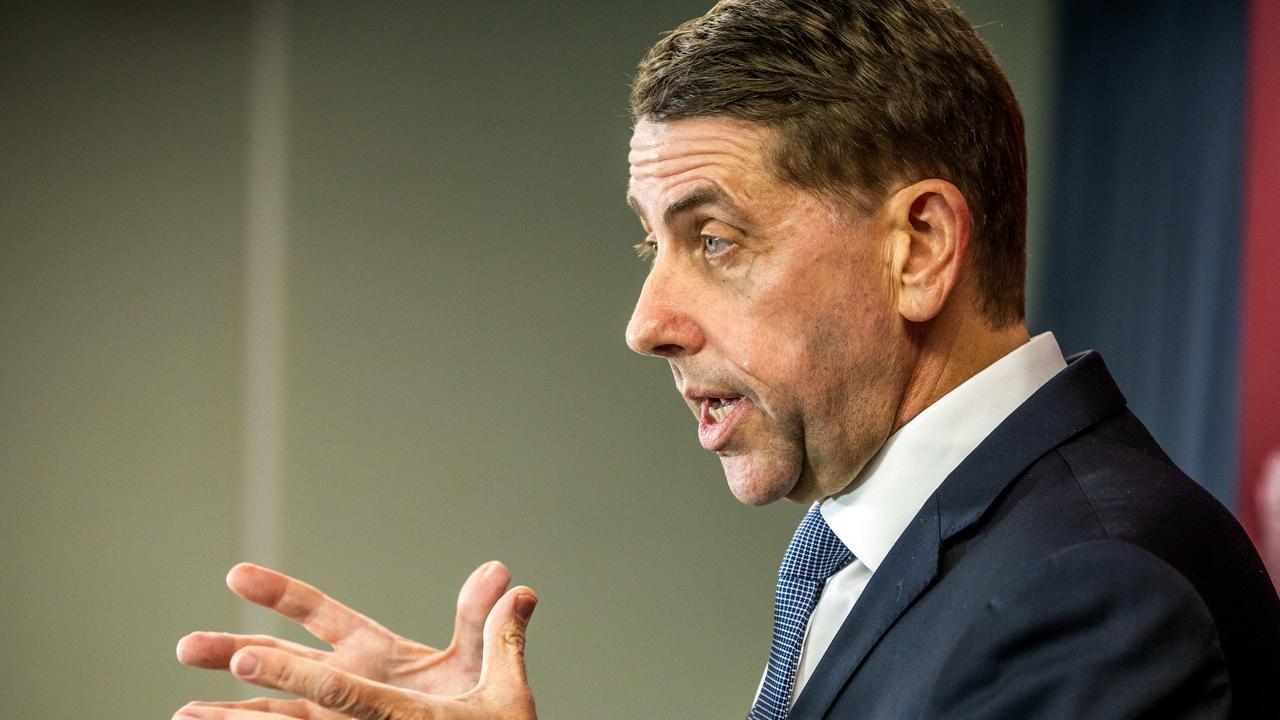 Treasurer Cameron Dick. Picture: Richard Walker
