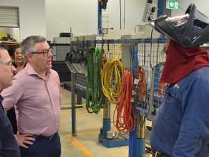 Senator Murray Watt's CQU visit