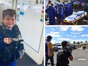 60+ PHOTOS: Mitchell State School gets a visit from local heroes