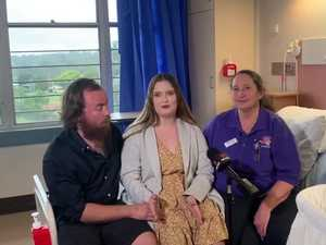 Gympie mum opens about heartbreaking loss