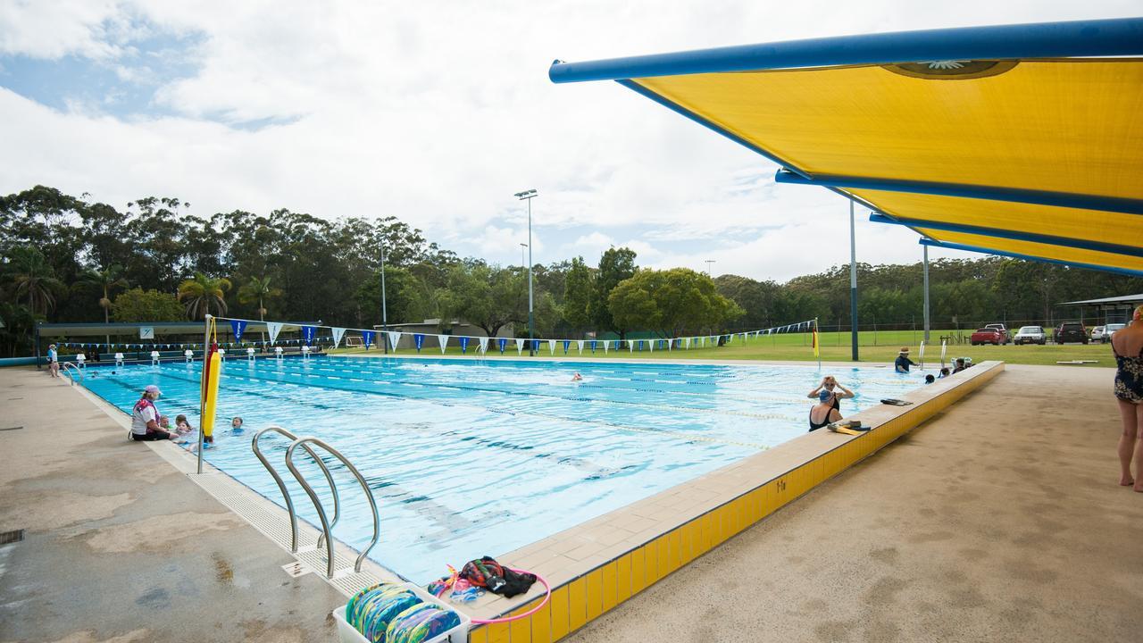 The Coffs Harbour public pool.