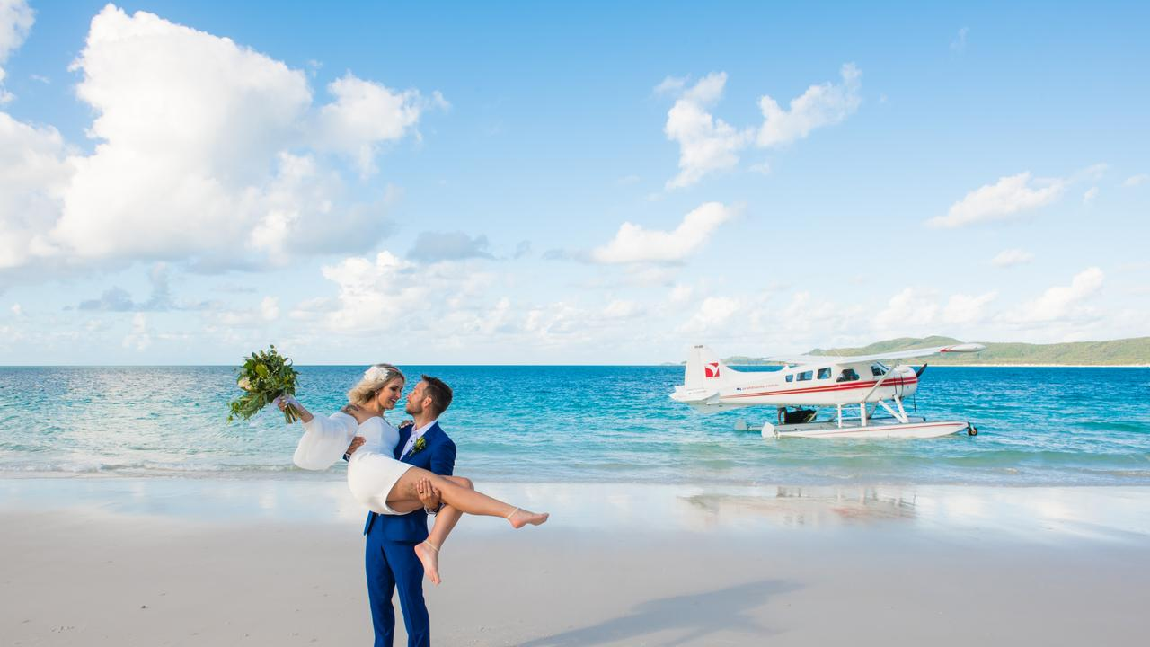 The Whitsunday wedding industry is ready to embrace micro weddings and elopements. Picture: Tropix Photography