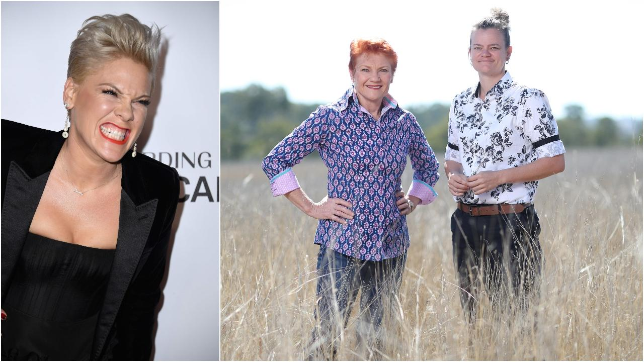 Pink's former bodyguard Brettlyn 'The Beaver' Neal has announced she is contesting the north Queensland seat of Cook for Pauline Hanson's One Nation Party.