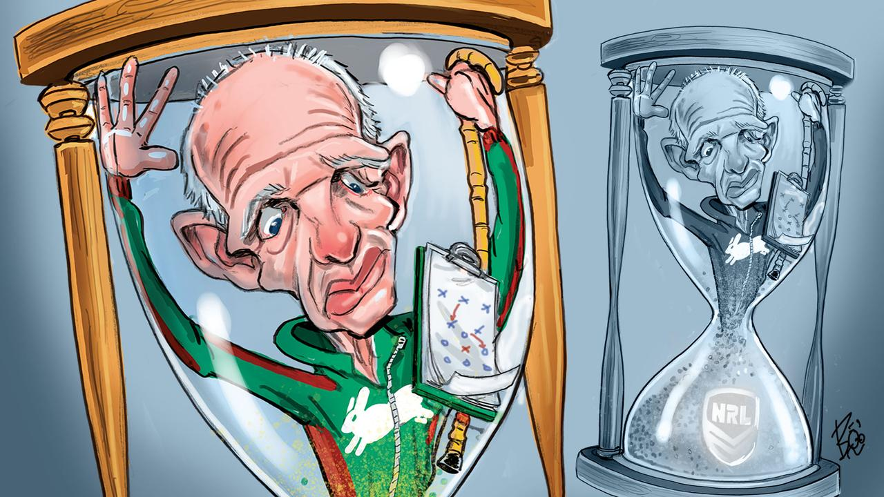 Has 'father time' caught up with Wayne Bennett? Art: Boo Bailey