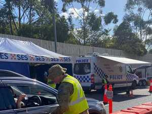 Queensland border crossing