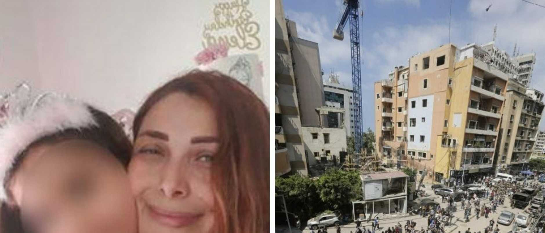 The mother of three Australian children caught in the horror of the Beirut explosion desperately pleading with the government for assistance.