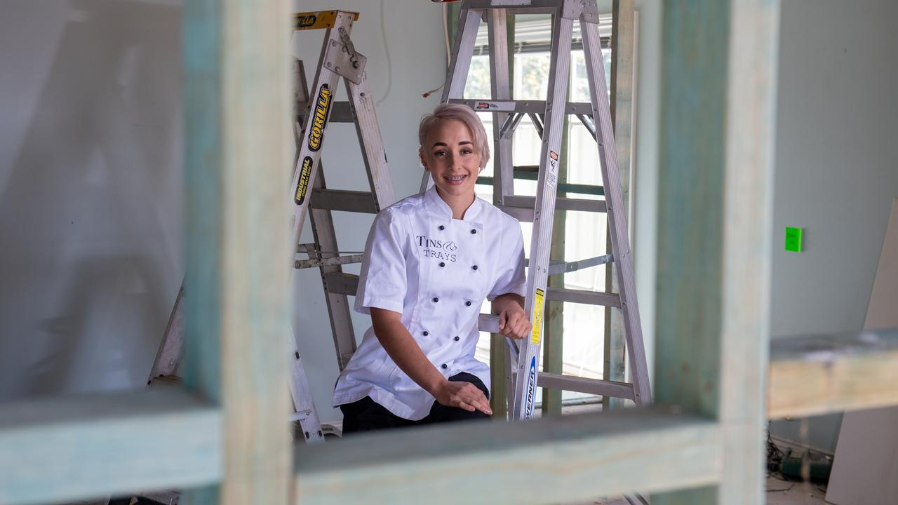 Sophie Litzow will be opening a new patisserie in Gatton called Tins & Trays. PHOTO: ALI KUCHEL