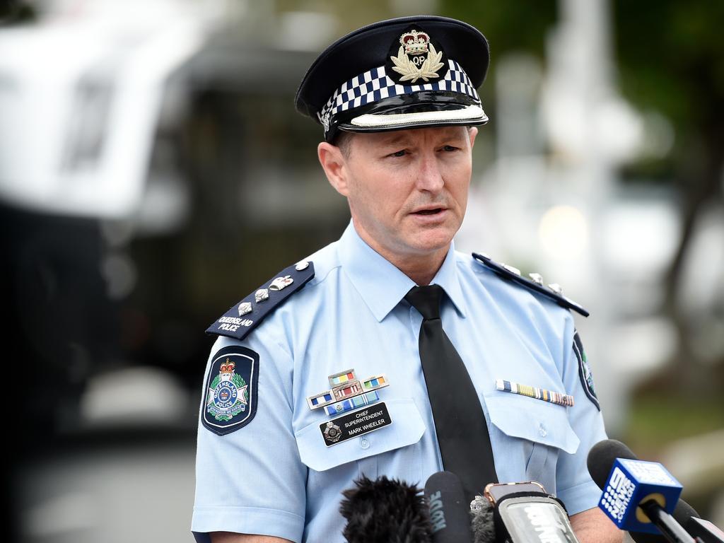 COOLANGATTA, AUSTRALIA – JULY 10: Gold Coast District Officer Chief Superintendent Mark Wheeler. (Photo by Matt Roberts/Getty Images)
