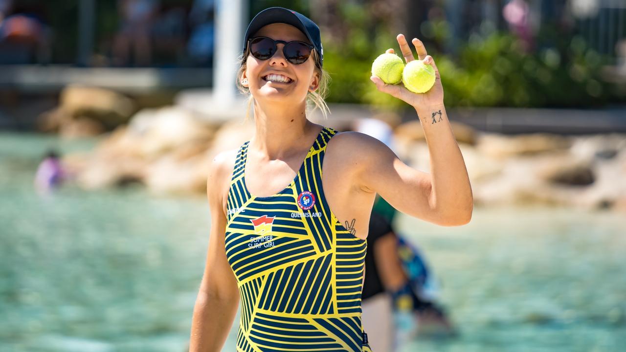 Alexandra Headland Surf Lifesaving Club's Sonita Leng-Cole has been the Sunshine Coast's ambassador for the Surf Girl 2020 campaign. Photo: Supplied