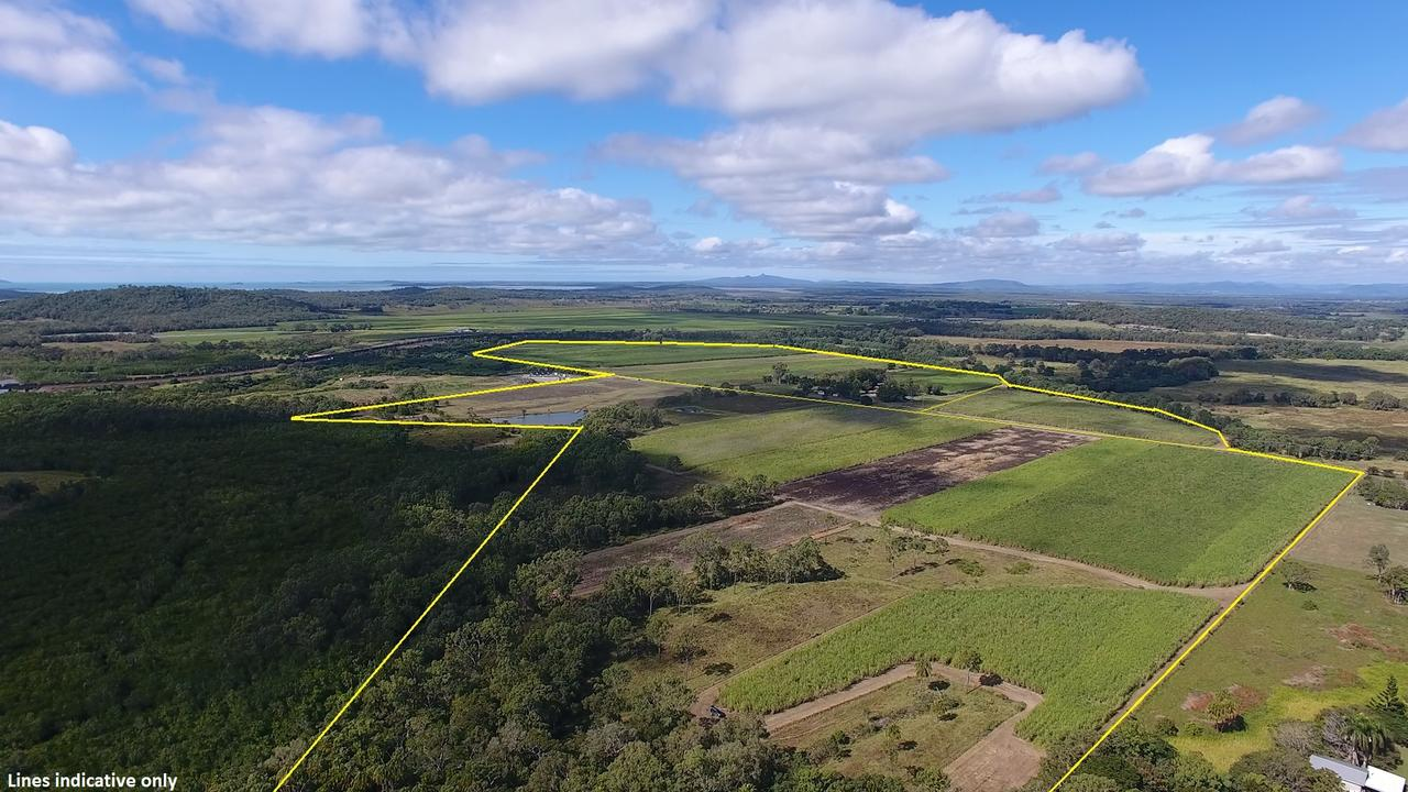 The Vella farm at 186 Brooks Road at Sarina recent sold. Supplied: Ray White Rural Sarina