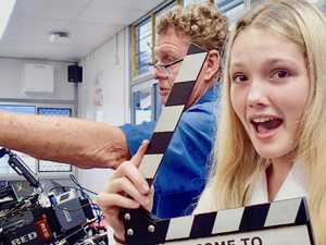 Students make movies with Oscar-winning cinematographer
