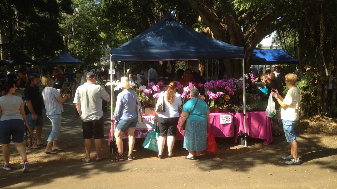 The Orchid Extravaganza held at the Ken Burgess Orchid House at Queens Park in 2017. Picture: Mackay Regional Council